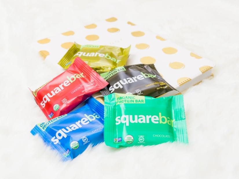 Barras de proteínas Square Organics