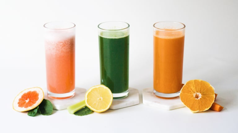 Green Juice Recipes Homepage