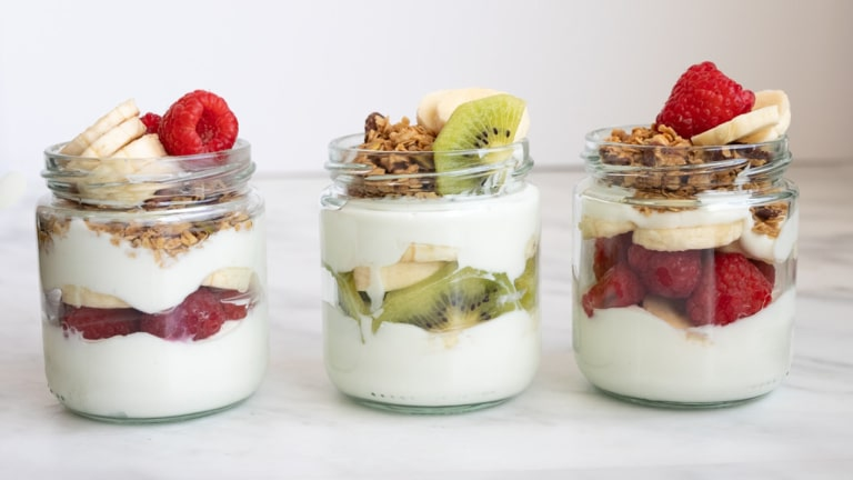 Yogurt Parfait Healthy Recipe